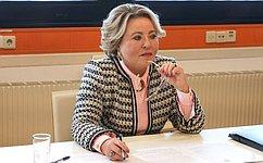 Председатель СФ В.Матвиенко провела ряд двусторонних встреч «наполях» 5-й Всемирной конференции спикеров парламентов вВене