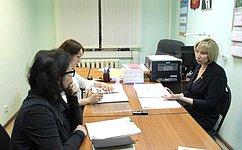 Врамках работы вНенецком автономном округе Р.Галушина провела встречу повопросам семейного устройства детей-сирот