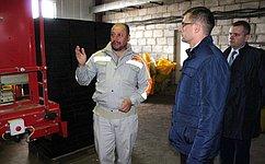 Д.Шатохин совершил рабочую поездку вСысольский район Республики Коми