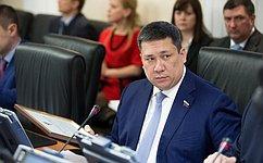 В. Полетаев принял участие взаседании парламента Республики Алтай