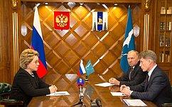 В.Матвиенко: Сахалинская область обладает уникальными возможностями ипотенциалом