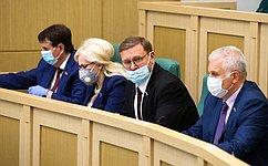 Сенаторы обсудили меры федеральной ирегиональной поддержки граждан иэкономики впериод пандемии коронавируса