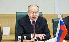 И.Умаханов: Российско-иранские отношения, втом числе межпарламентские, имеют высокий уровень доверия