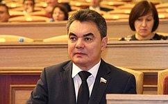 И. Ялалов принял участие взавершающим осеннюю сессию пленарном заседании Государственного Собрания– Курултая Республики Башкортостан 2019года