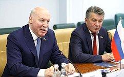 Д. Мезенцев: Двусторонние межпарламентские связи между Россией иЯпонией становятся все более интенсивными