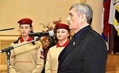М. Козлов: Костромское юнармейское движение сегодня представлено очень широко
