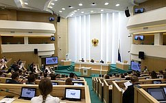 В. Матвиенко: Палата молодых законодателей зарекомендовала себя как сплоченная команда молодых целеустремленных профессионалов