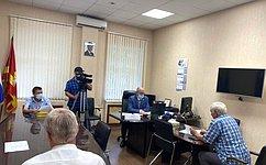 О. Цепкин обсудил вЧелябинской области вопросы организации безопасного дорожного движения иблагоустройства