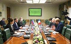 К. Косачев: Постоянные контакты парламентариев России иФранции открывают новые перспективы для двустороннего диалога