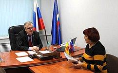 В.Николаев рассмотрел обращения граждан входе личного приема вЧувашской Республике