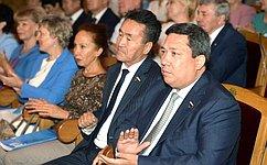 В. Полетаев принял участие впраздновании Дня города Горно-Алтайска