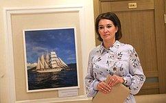 М. Павлова открыла вСовете Федерации выставку детских творческих работ