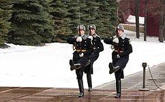 Поздравление Председателя СФ В. Матвиенко сДнём защитника Отечества