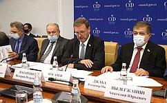 К. Косачев: Зарубежные коллеги активно участвуют вработе поподготовке Всемирной конференции помежкультурному имежрелигиозному диалогу
