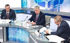 В.Бондарев: Сенаторы работают над обеспечением стратегического национального приоритета— обороны страны