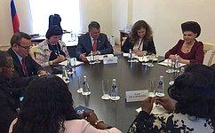 Ю. Воробьев провел ряд двусторонних встреч врамках 137-й Ассамблеи Межпарламентского союза вСанкт-Петербурге