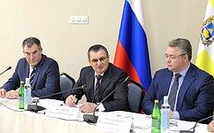 Н.Федоров: Мероприятия поразвитию Кисловодска выполняются вутвержденном объеме ивустановленные сроки