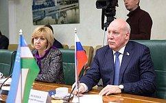 Межпарламентские связи России иУзбекистана успешно развиваются— Д.Мезенцев