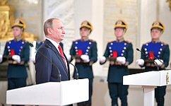 Ю. Воробьев принял участие вцеремонии вручения Государственных премий Российской Федерации
