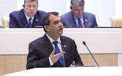 Сабер Чоудхури: Главная роль парламентариев— способствовать диалогу между государствами