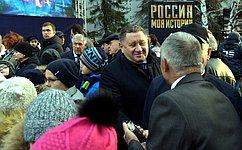 М.Пономарев: Открытие мультимедийного исторического парка вТюмени— знаковое событие