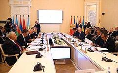 В. Матвиенко провела заседание Совета Межпарламентской Ассамблеи государств-участников СНГ
