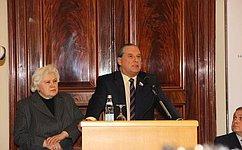 А. Александров принял участие вторжественном собрании юридической общественности послучаю юбилейной даты содня рождения А.Ф.Кони