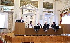В.Кравченко вручил Почетные грамоты Совета Федерации