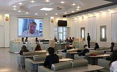 Ю. Воробьев: Предупреждение, спасение ипомощь– основные цели развития МЧС России