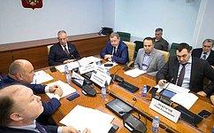 С.Митин провел совещание пореализации рекомендаций парламентских слушаний поразвитию отечественного садоводства