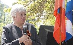 О. Тимофеева поздравила ветеранов Севастополя сДнем Победы