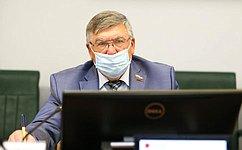 Комитет СФ посоциальной политике обсудил работу ФОМС вусловиях распространения коронавирусной инфекции