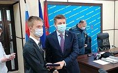 А. Шевченко: Отвага детей-героев иих мужественные поступки вызывают глубокое уважение