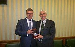 Делегация Комитета Совета Федерации помеждународным делам посетила Италию