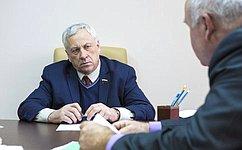 Ю.Липатов: Оказание поддержки социально незащищенным слоям населения– стратегическая задача нашего государства