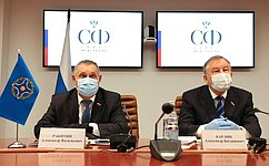 А.Ракитин иА.Карлин приняли участие всовместном заседании постоянных комиссий ПАОДКБ