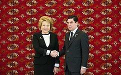 Председатель СФ: ВТуркмении растет интерес крусскому языку