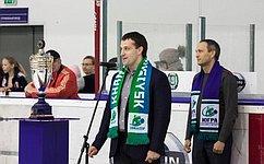 Э. Исаков открыл международный турнир последж-хоккею «Кубок Югры»