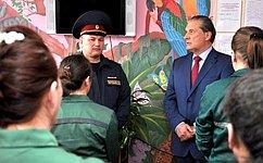 А.Александров посетил следственный изолятор иженскую колонию вКалуге