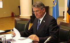 Ю. Воробьёв принял участие взаседании Совета Парламентской Ассамблеи ОДКБ