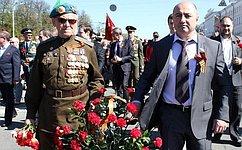А. Вайнберг: Чтить память участников Великой Отечественной войны– наш моральный долг