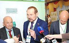 С.Белоусов: Развитие биотехнологий вотечественном сельском хозяйстве— важный шаг напути к«зеленой» экономике