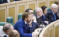 Совет Федерации отложил рассмотрение вопроса олишении неприкосновенности К. Цыбко наследующее заседание