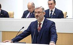 Министр транспорта РФ рассказал сенаторам оходе реализации нацпроекта «Безопасные икачественные автомобильные дороги»