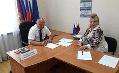 А. Кондратенко обсудил сжителями Кубани вопросы землепользования