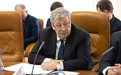 Сенаторы приняли участие воткрытии Всероссийского водного конгресса вЦентре международной торговли