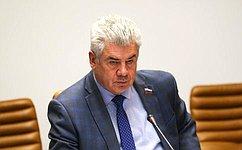 В. Бондарев: Сенаторы реализуют инициативу поукреплению военно-патриотической работы всубъектах РФ