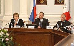 Комитет СФ поРегламенту иорганизации парламентской деятельности провел выездное заседание вВеликом Новгороде