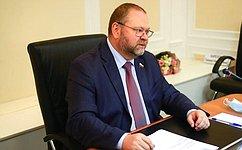 О. Мельниченко провел заседание Комитета СФ пофедеративному устройству, региональной политике, местному самоуправлению иделам Севера