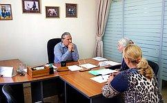 А. Александров входе приема граждан вКалуге обсудил темы ЖКХ, переселения граждан изветхого иаварийного жилья